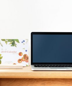 Calendar 2019 - slow living collection by Eding Illustration