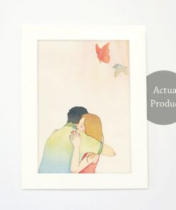 Art Print - Intimacy in slow living collection by Eding Illustration