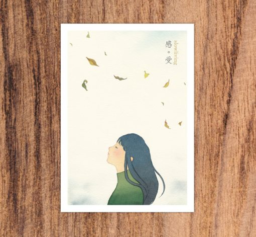 postcard- Feel in slow living collection 2 by Eding Illustration