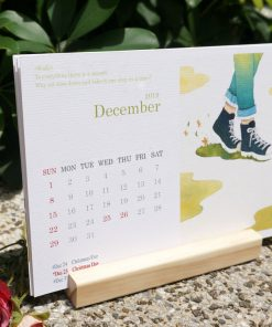 calendar 2019 slow living by Eding Illustration
